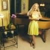 Bonnie Berman at her piano.